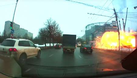 انفجار کپسول گاز در ایستگاه مترو مسکو 7 زخمی داشت