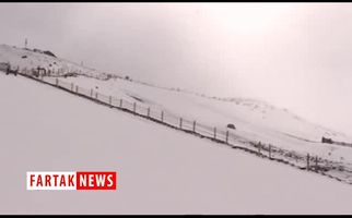 برف غیره منتظره تابستانی در چین+ فیلم