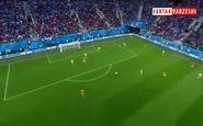 گل اول روسیه به مصر (فتحی-گل به خودی)